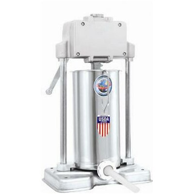 TSM Products 20 lbs Capacity Stainless Steel Stuffer