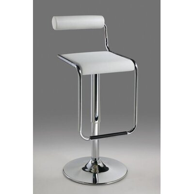 Adjustable Height Swivel Bar Stool with Cushion by Creative Images International