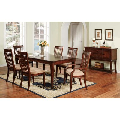 Winners Only Inc Topaz 7 Piece Dining Set Reviews Wayfair