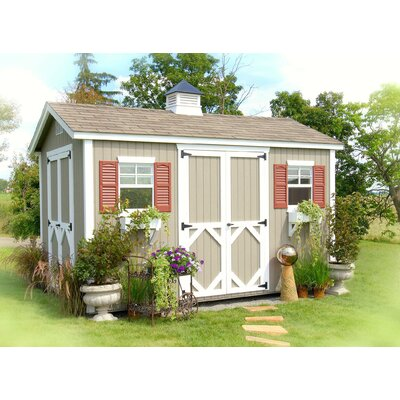 Little Cottage Company 8 Ft. W x 12 Ft. D Wood Garden Shed