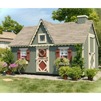 Victorian Playhouse Kit with No Floor Product Photo