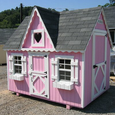 Little Cottage Company Victorian Playhouse Small Kit with Floor SVPKF