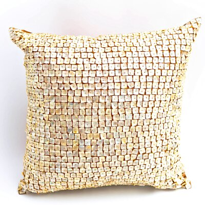 Mother of Pearl Throw Pillow by Debage Inc.