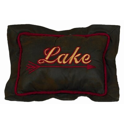 HiEnd Accents Tahoe Lake Lumbar Pillow