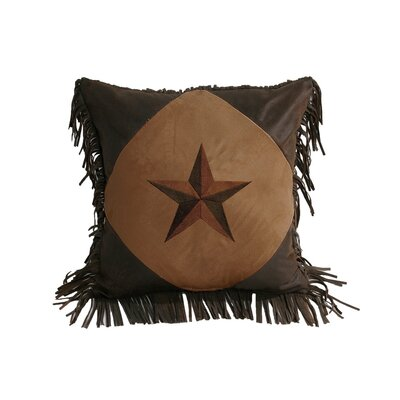 Laredo Diamond Star Throw Pillow by HiEnd Accents