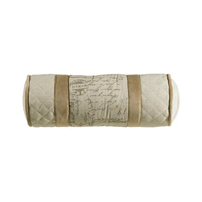 Fairfield Synthetic Bolster Pillow by HiEnd Accents