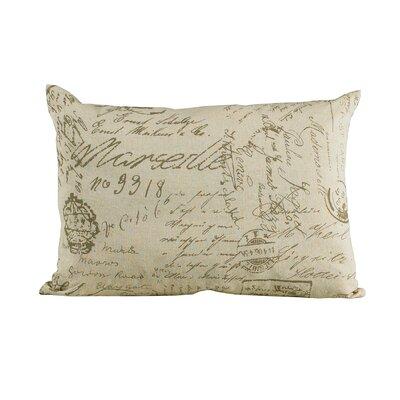 Fairfield Linen Lumbar Pillow by HiEnd Accents