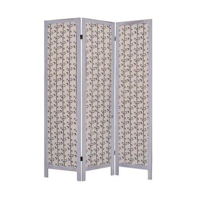 "Screen Gems 67"" x 52"" Tarbert 3 Panel Room Divider"