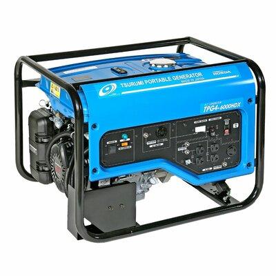 6,000 Watt Generator with Recoil Start by Tsurumi