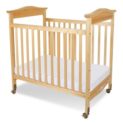 Foundations Biltmore Safereach Fixed Side Clearview Full Convertible Crib with Mattress