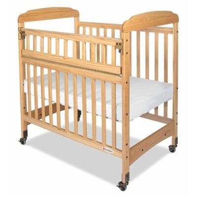 Serenity Safereach Hinged Clearview Compact Convertible Crib with Matrress by Foundations