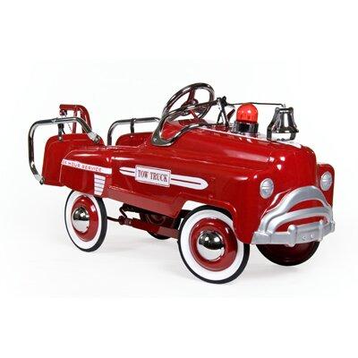 American Retro Pedal Car Tow Truck