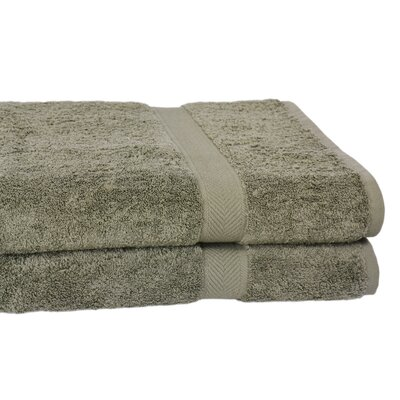 All American Line 100% Supima Cotton Oversized Bath Towel by Calcot Ltd.