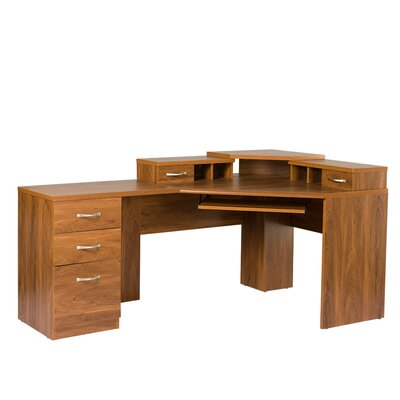 OS Home & Office Furniture Office Adaptations Corner Computer Desk