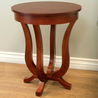 Clark End Table by Charlton Home
