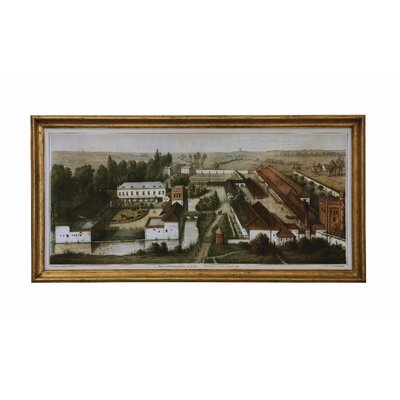Turn of the Century Vintage Reproduction of English Farm Framed Wall Art by Creative Co-Op ...