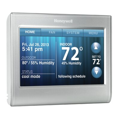 Programmable Touchscreen Wi-Fi Enabled Thermostat Product Photo