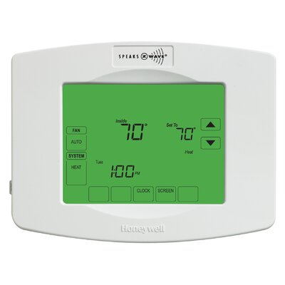 Z-Wave 7-Day Programmable Touchscreen Thermostat Product Photo