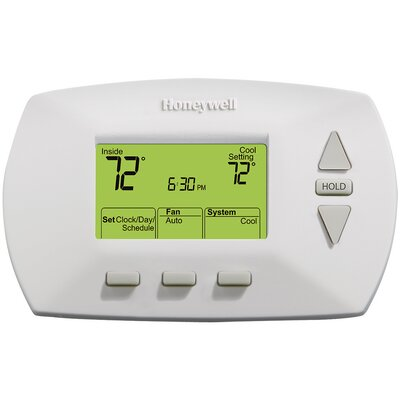 5/1/1-Day Programmable Digital Thermostat with Backlight Product Photo