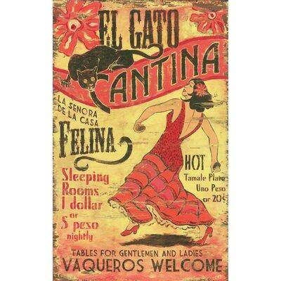 Vintage Signs El Gato Vintage Advertisement Plaque