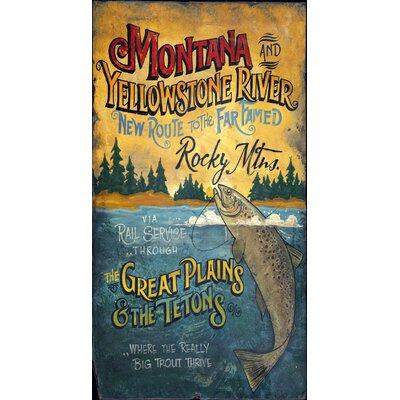 Vintage Signs Montana Vintage Advertisement Plaque