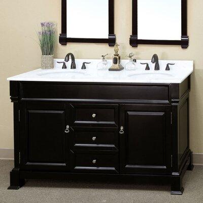 """Kendall 60"""" Double Bathroom Vanity Set Product Photo"""