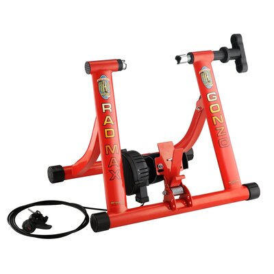 Smooth Magnetic Resistance Max Gonzo Trainer Bike by RAD Cycle Products