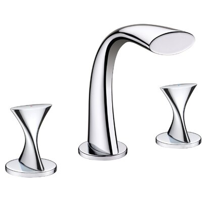 Double Handle Bathroom Widespread Faucet Product Photo