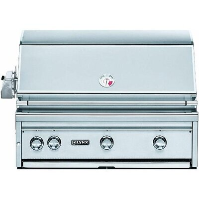 "Lynx 36"" Built-In Gas Grill with All ProSear Burner"