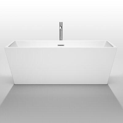 Wyndham Collection Sara 67 Quot X 31 5 Quot Soaking Bathtub