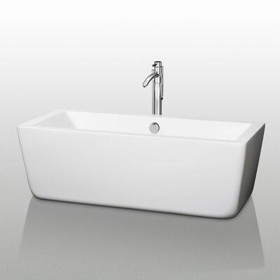 "Laura 58.75"" x 27.38"" Soaking Bathtub Product Photo"