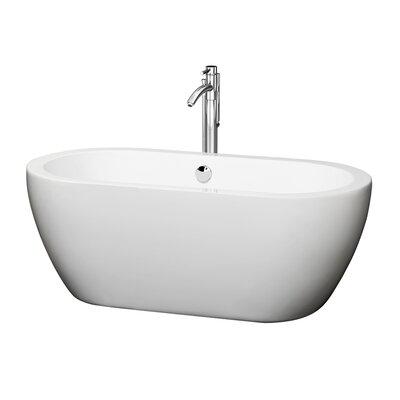 "Soho 60"" x 29"" Soaking Bathtub Product Photo"