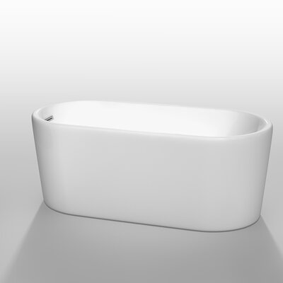"Ursula 59"" x 27.5"" Soaking Bathtub Product Photo"