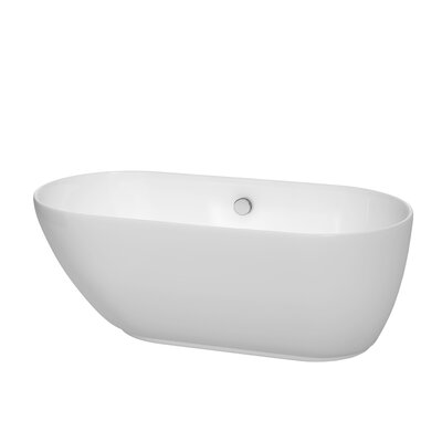 "Melissa 60"" x 29"" Freestanding Bathtub Product Photo"