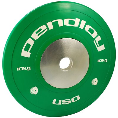 Pendlay 10kg Elite Color Bumper Plates