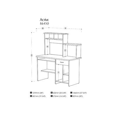 Bestar Active Computer Desk
