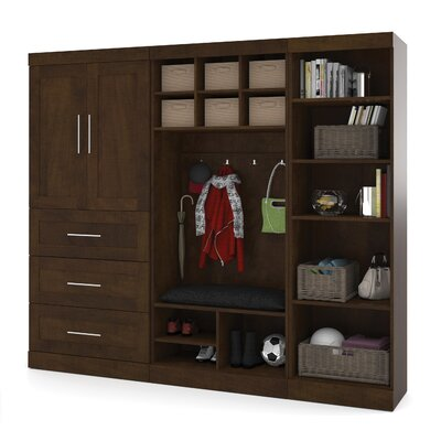 "Pur 18.25"" Deep Mudroom Storage Unit Kit Product Photo"