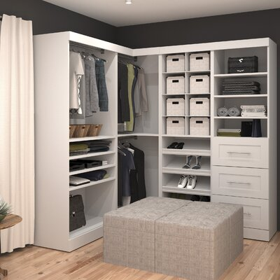 "Pur 68"" Deep Corner Multi Storage Cubby Kit Product Photo"