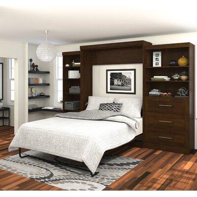 Bestar Queen Storage Murphy Bed & Reviews | Wayfair