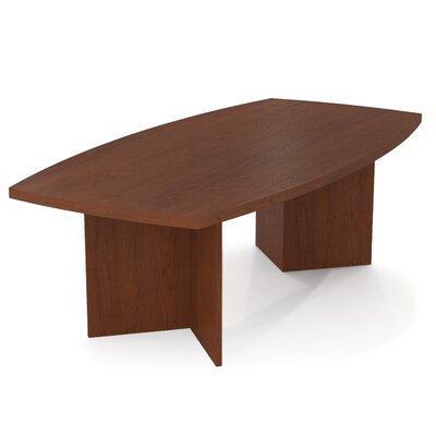 Bestar Prevue 8' Boat Shaped Conference Table