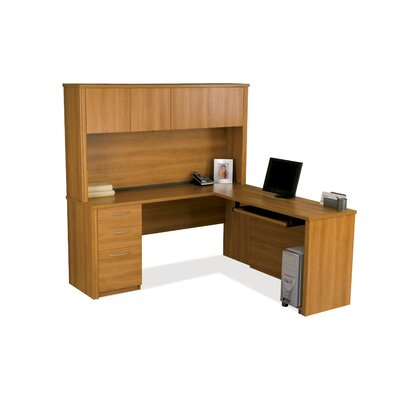 Bestar Embassy L-Shape Desk Office Suite