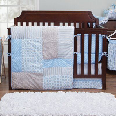 Logan 3 Piece Crib Bedding Set by Trend Lab