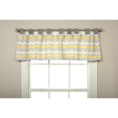 """Buttercup Zigzag 56"""" Curtain Valance Product Photo"""
