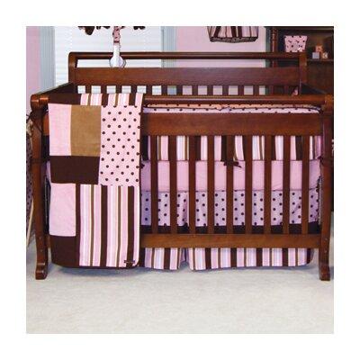 Maya 4 Piece Crib Bedding Set by Trend Lab