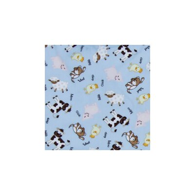 Trend Lab Baby Barnyard Crib Sheet