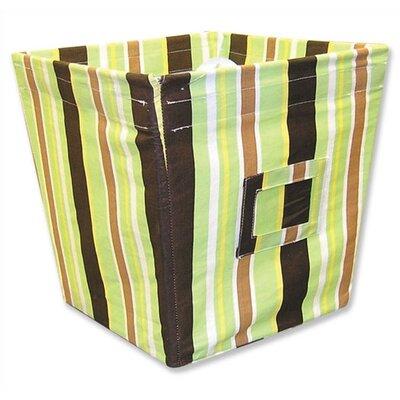 Trend Lab Giggles Medium Fabric Storage Bin in Stripe