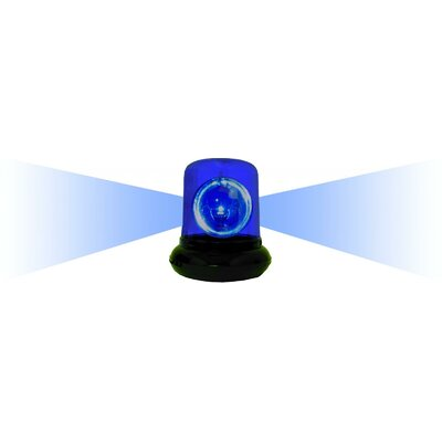 """Creative Motion Electrical Police Beacon Light 9"""" H Table Lamp"""