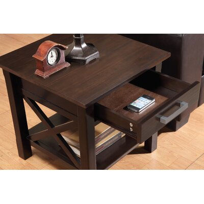 Simpli Home Kitchener End Table Reviews Wayfair