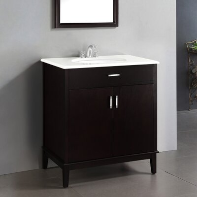"Urban Loft 31"" Single Bathroom Vanity Set Product Photo"