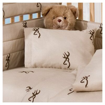 Browning Buckmark 2 Piece Crib Bedding Set